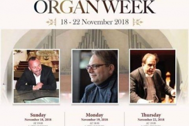 Damascus Pipe Organ week 18-22 / 11 / 2018